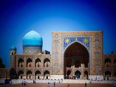 Auf den Spuren der Seidenstrasse in Khiva, Bukhara und Samarkand. Abstecher zum Aralsee (oder was davon übrig blieb). Samarkand, Taj Mahal, Building, Travel, Travel Report, Viajes, Buildings, Destinations, Traveling