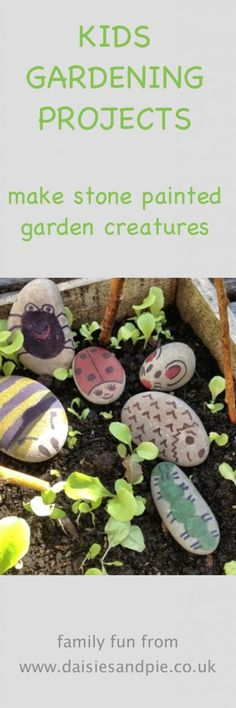 Painted stone creatures painted stone creatures painted stone garden bugs how to decorate stones as creatures stone painting craft for kids kids activities from daisies and pie The post Painted stone creatures appeared first on School Diy. Summer Holiday Activities, Holiday Club, Holiday Dinner, Outdoor Learning, Toddler Activities, Family Activities, Nature Activities, Learning Activities, Kids Learning