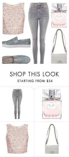 """Waiting Game"" by dreamingdaisy on Polyvore featuring Topshop, Christian Dior and Steve Madden"