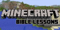 Use these ideas to create your own weekly Bible lessons for kids, based around Minecraft.