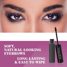 Long lasting waterproof colored brow gel effortlessly creates the appearance of fuller and thicker brows. Beauty Blogs, Beauty Advice, Eyebrow Makeup, Diy Makeup, Best Eyebrow Products, Beauty Products, Tinted Brow Gel, Thick Brows, Eyebrow Growth