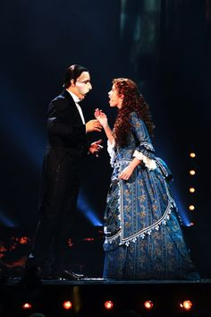 Sierra and Ramin as the Phantom and Christine (my two favorites)
