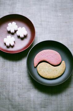 Fun Food Kids Japanese sweets cookies kekse bisquits yin yang süßes backen bake