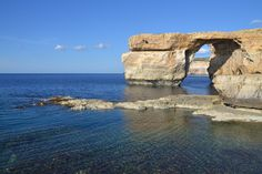 Azure Window... now collapsed by guytouche #ErnstStrasser #Malta Malta, Windows, Explore, Water, Outdoor, Gripe Water, Outdoors, Malt Beer, Outdoor Games