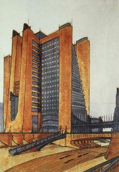Soviet Constructivist Architecture – Blueprints andRealizations | Urbanism 3.0 | Scoop.it