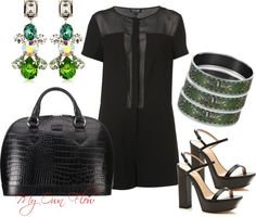 """""""THE EARRINGS"""" by myownflow on Polyvore"""