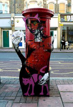 Miss Bugs Street Art