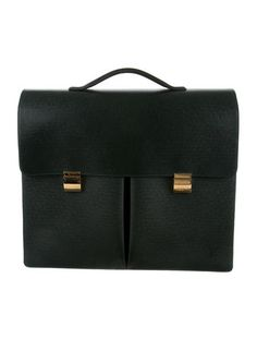 Louis Vuitton Taiga Khazan Briefcase #ClassicMenswear #GetObsessed