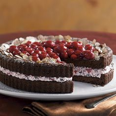 Cherry Cordial Torte - The Pampered Chef®