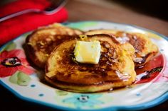 Lemon Pancakes | The