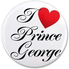 I love Prince George Button, Royal Baby #royalbaby #princegeorge