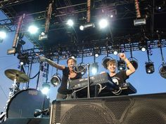 """Matt and Kim.  """"Infectious energy"""" is how best to describe this duet!  They were definitely one of the hits of Sasquatch 2011!  Can't wait to see them again."""