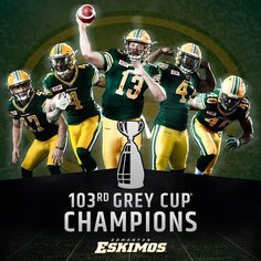 Grey Cup for Edmonton Canadian Football League, Grey Cup, Favorite Pastime, Champions, Air Force, Nfl, Sports, Falcons, Plumbing