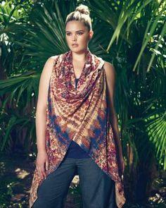 love & legend multi-way vest   Shop Online at Addition Elle