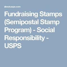 Fundraising Stamps (Semipostal Stamp Program) - Social Responsibility - USPS