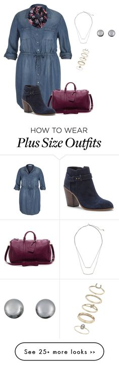 """plus size fall ready"" by kristie-payne on Polyvore featuring maurices, Sole Society, Wet Seal, H&M, Kenneth Jay Lane and Miss Selfridge"