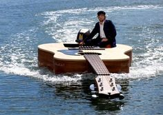 Out to Sea on a Guitar-Shaped Boat: Australia