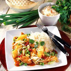 Hähnchen auf chinesische Art Rezept   LECKER
