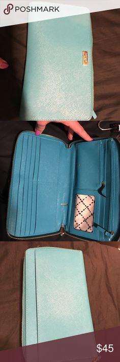 Kate Spade larger wallet Larger Kate Spade Wallet. Large enough for passport and phone kate spade Bags Wallets