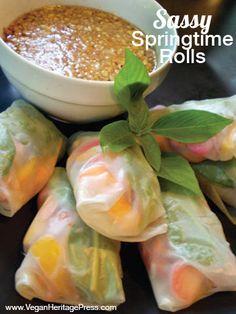 Sassy Springtime Rolls