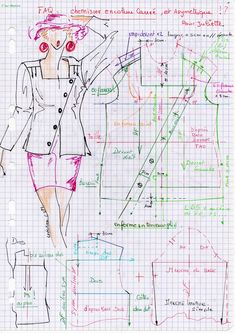 c' faq -contacts reponses - C'sur Mesure Couture Main, Couture Tops, Easy Sewing Patterns, Sewing Tutorials, Pattern Cutting, Pattern Making, Diy Clothing, Clothing Patterns, Costumes Couture
