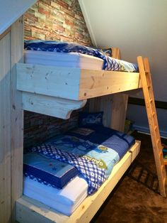 Bunk bed boys room / stapelbed jongenskamer