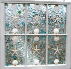 Beach cottage bathroom decor - 1000 Images About Sea Glass Projects On Pinterest Sea Glass Mosaic