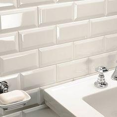Metro Ivory Wall Tiles - 200mm x 100mm