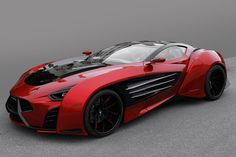 Laraki Epitome, Corvette-based 1,750 hp supercar prototype | Diseno-art