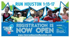 Run the Houston Marathon and follow my journey to the finish line!