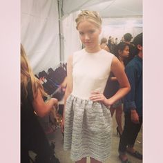 "@seidih's photo: ""Dressed like a lady for once ? #dawsonanddeveraux #vfw #backstage"""