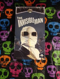 The Invisible Man VHS 1933/1991 Universal by HECTORSVINTAGEVAULT