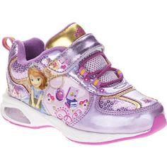 Sofia The First Toddler Girl's Fastner Cross-Trainer Shoe