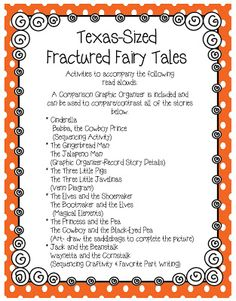 Texas Sized Fractured Fairy Tales