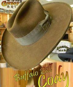 17e8b6f722 Buffalo Bill Cody Cowboy Hat Custom Cowboy Hats