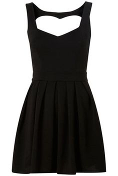 Rib Heart Back Bodycon Dress by Dress Up Topshop** - Topshop