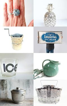 Think Cool, Its Hot Out There by Matt and Meg on Etsy--Pinned with TreasuryPin.com