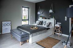casa_haus_shoko_design_nordic_home_bedroom. Home Bedroom, Home Living Room, Bedroom Decor, Nordic Home, Nordic Style, Modern Home Interior Design, Contemporary Interior, Home Fashion, Interior Decorating