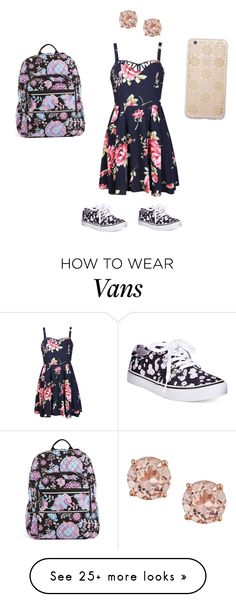 """""""Floral"""" by violingirl2003 on Polyvore featuring Ally Fashion, Vans, Sonix, Vera Bradley, women's clothing, women, female, woman, misses and juniors"""