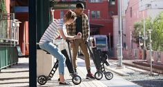 Cruise the town in style and convenience with the URB-E. The URB-E Foldable Electric Scooter is the source between a bike and a car but it is