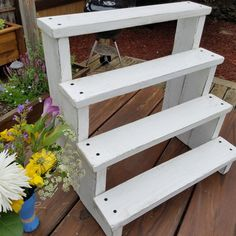 ReclaimandRefurbish shared a new photo on Etsy is part of Wedding cupcake display Give your next event a rustic twist with this reclaimed wood dessert display You spend a lot of time making sure yo - Diy Wood Projects, Garden Projects, Wood Crafts, Woodworking Projects, Wooden Cupcake Stands, Cupcake Display Stand, Dessert Stand, Display Stands, Tiered Cupcake Stand