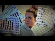 Perfectly Posh Sample Labels DIY - YouTube