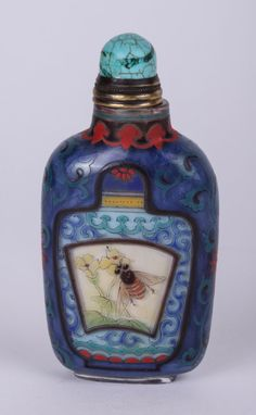 19/20th C. Chinese Glass Snuff Bottle