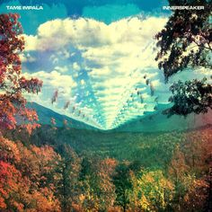 Very psychedelic album cover by Leif Podhajsky for Aussie band Tame Impala.  Great album too.
