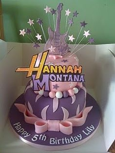 Hannah Montanna...lol had a hm themed b day party