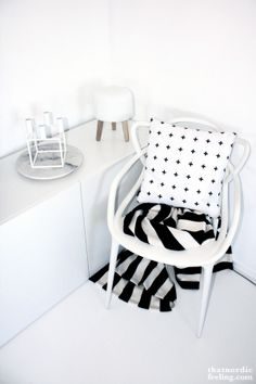 Via That Nordic Feeling | Kartell Masters chair by Philippe Starck