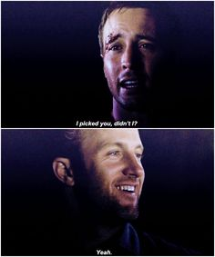 it's okay guys go on without me fucking mcgarrett you can't just say shit like this while your face is looking like that alex o'loughlin scott caan hawaii five-0 H50: 1x09