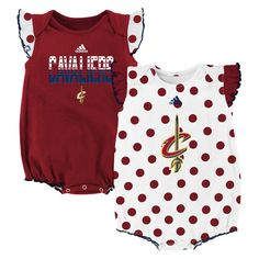 check out c1c64 16dd9 New York Knicks adidas Girls Infant Polka Fan Bodysuit Set - Blue White