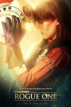"Star Wars ""Rogue One"" / Movie Poster Fan"
