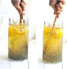 chia lemonade / foodloveswriting.com
